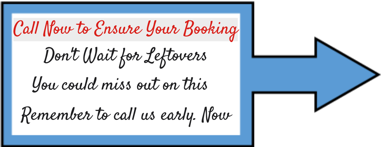 Ensure Your Booking